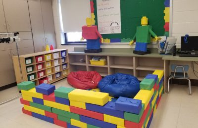 Lego themed classroom